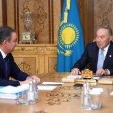 Назарбаев предложил кандидатуру Нигматулина на пост главы фракции