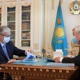 Касым-Жомарт Токаев раскритиковал Бердибека Сапарбаева