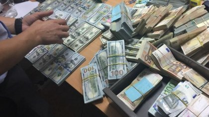 Незаконные обналичивания на страшные суммы денег проворачивали преступные группировки в Алматы